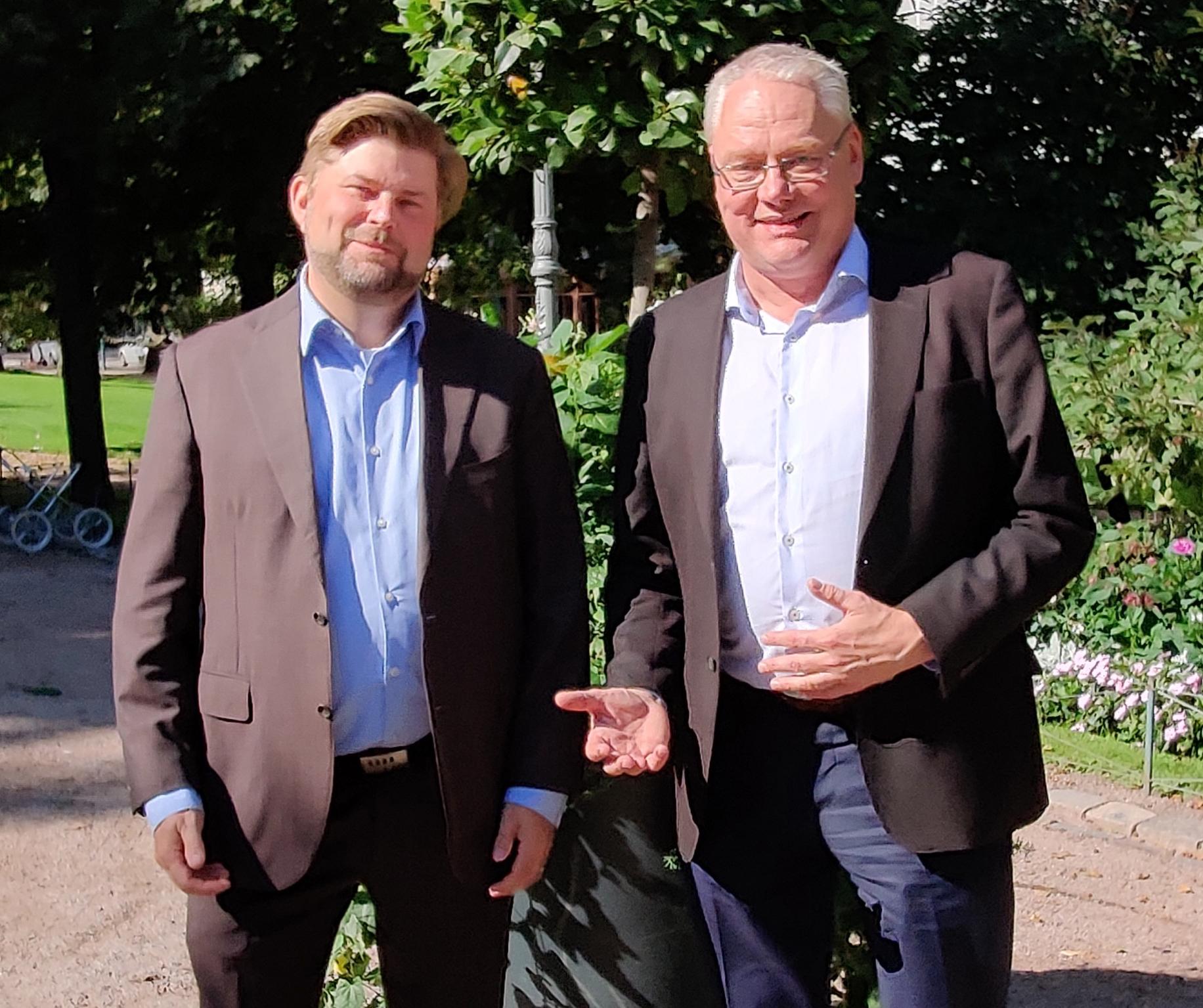 Mika Nilsson ja Thomas Sparring